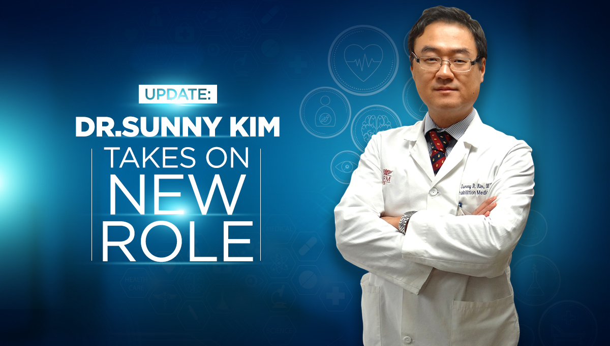 Dr. Kim New Role