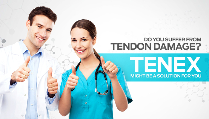 Do you sugger from tendon damage? Tenex might be a solution for you
