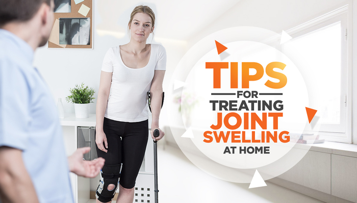 tips for treating joint swelling at home
