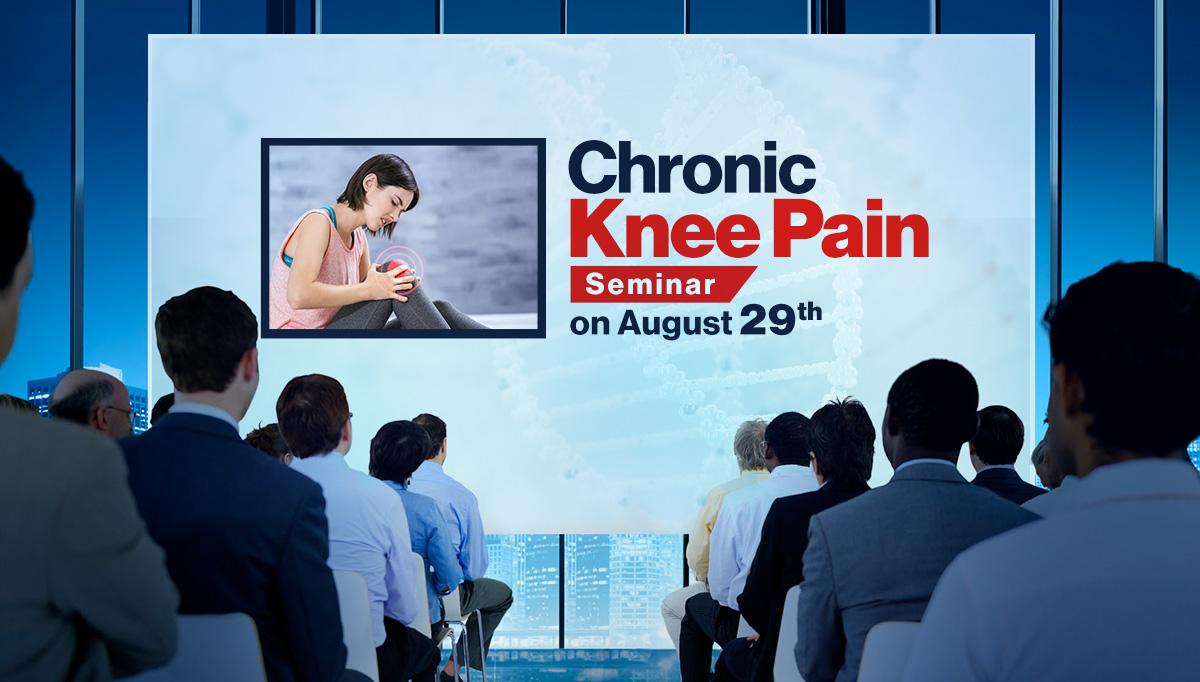 Chronic Knee Pain Seminar